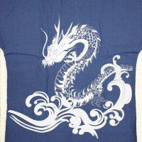 鯉口シャツ刺繍